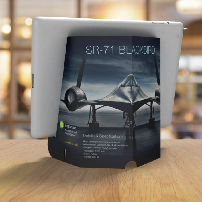 Brand Stand Rendering for The Smithsonian
