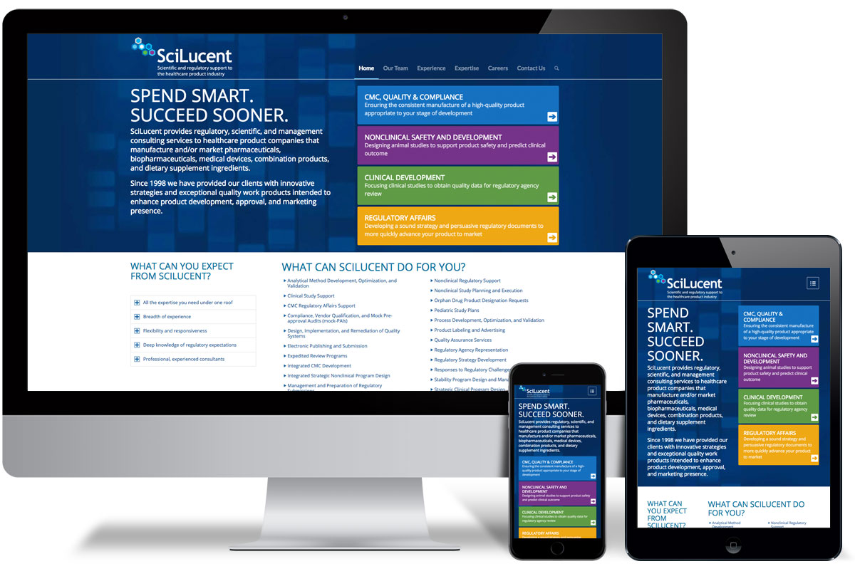 Scilucent Web Design